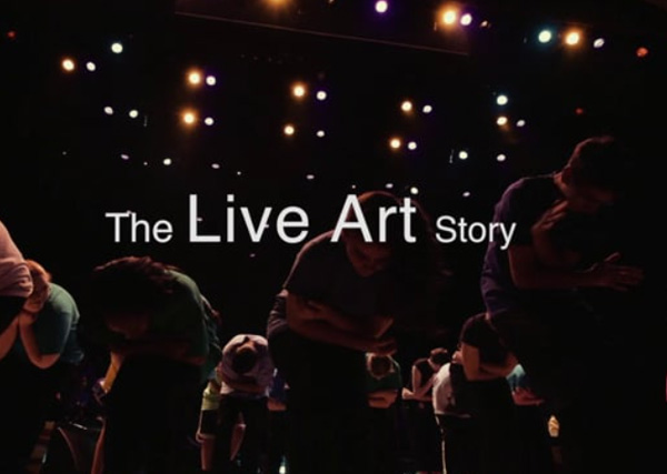 From the Wings The Live Art Story