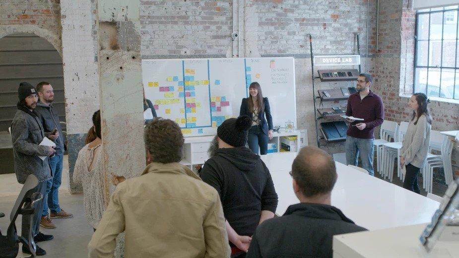 discoveries inside a digital agency